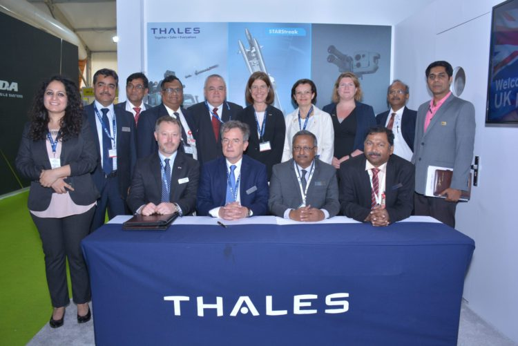 Bharat Dynamics Ltd (BDL) and Thales signed a Teaming agreement to work in partnership on the STARStreak Air Defence System https://www.thehansindia.com/news/cities/hyderabad/hyderabad-bdl-to-make-british-air-defence-system | Hyderabad Stories